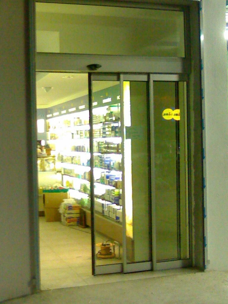 Snaf professionnel installation portes automatiques for Porte automatique